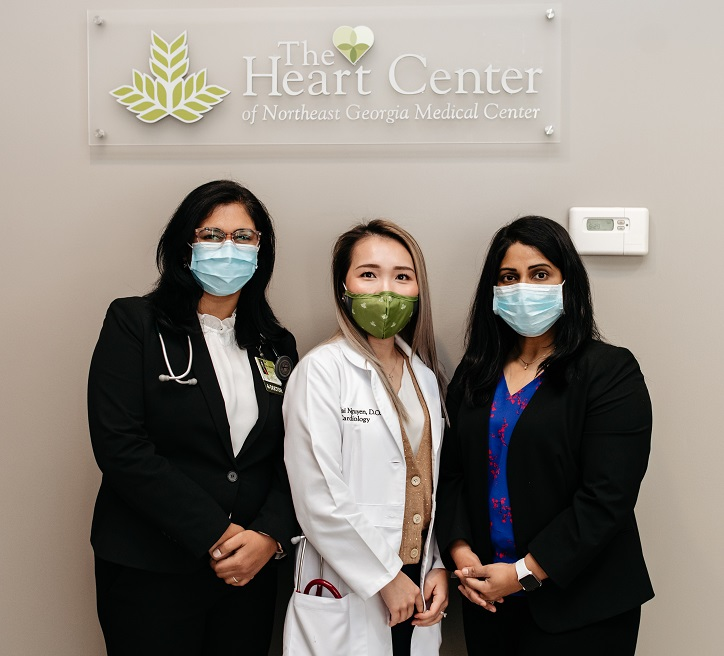 women's heart health doctors at The Heart Center